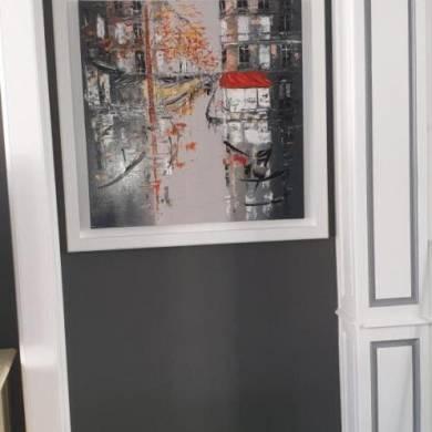 Cadre En Bois Sur Mesure Pour Peinture Client De Fenetres