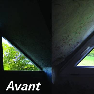 Triangulaire 1 Vantail Avant Apres Bois Sur Mesure
