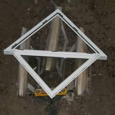 Triangulaire 1 Vantail Bois Sur Mesure