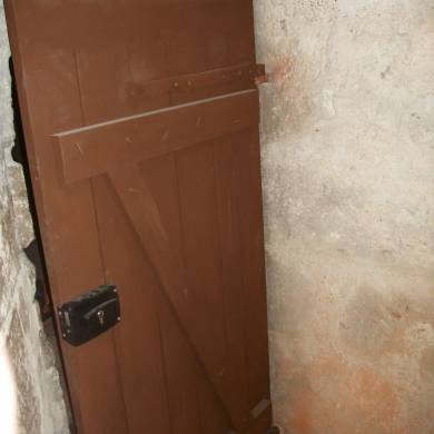 Porte Assemblage Sans Colle Cheville Et Clous Retournes En Bois Sur Mesure