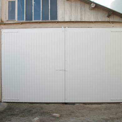 Grande Porte De Grange De Type Portail Sur Mesure 2 Vantaux